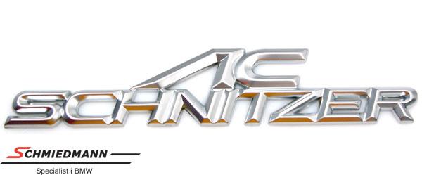 AC Schnitzer Emblem für die Heckklappe (Metal) 140x40MM