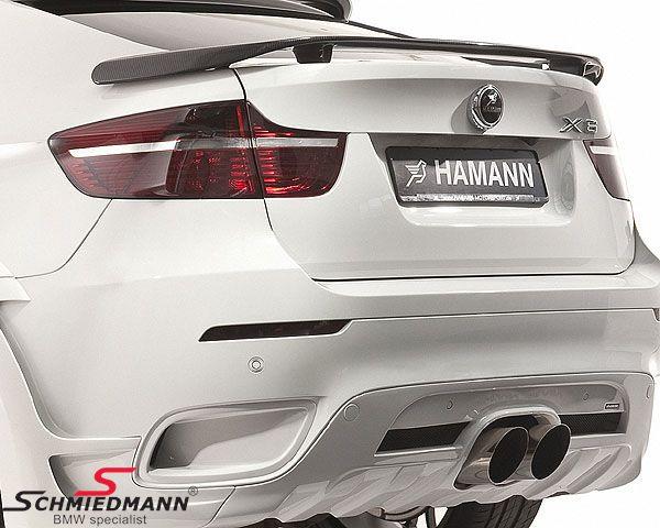 Rear ving genuine carbon big original -HAMANN-