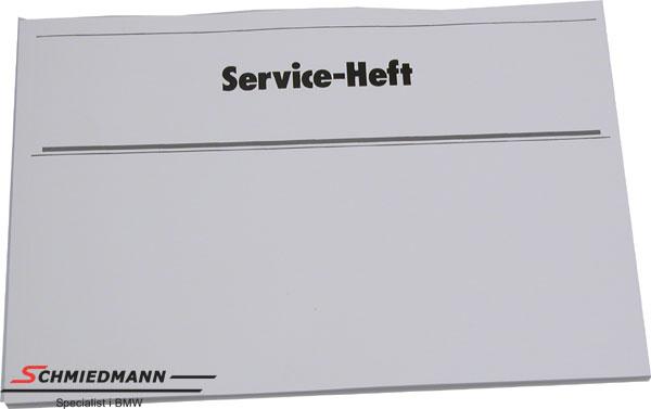 Servicehæfte tysk