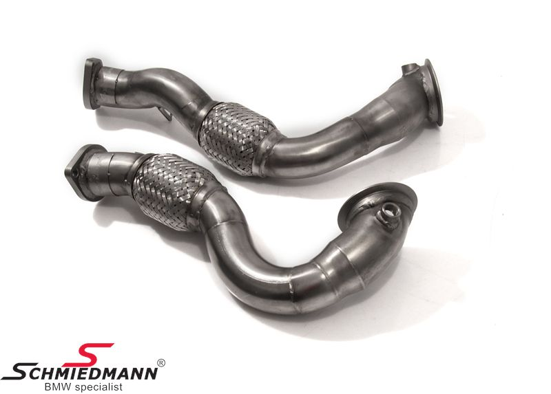 Schmiedmann front catalyst replacements (downpipes) for race use only
