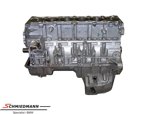 Schmiedmann M52/M54 3.0L motorblok med stempler/krumtap komplet