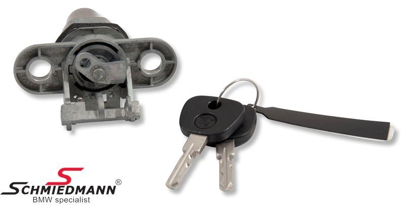 Koffertlokk-lås med nøkkel