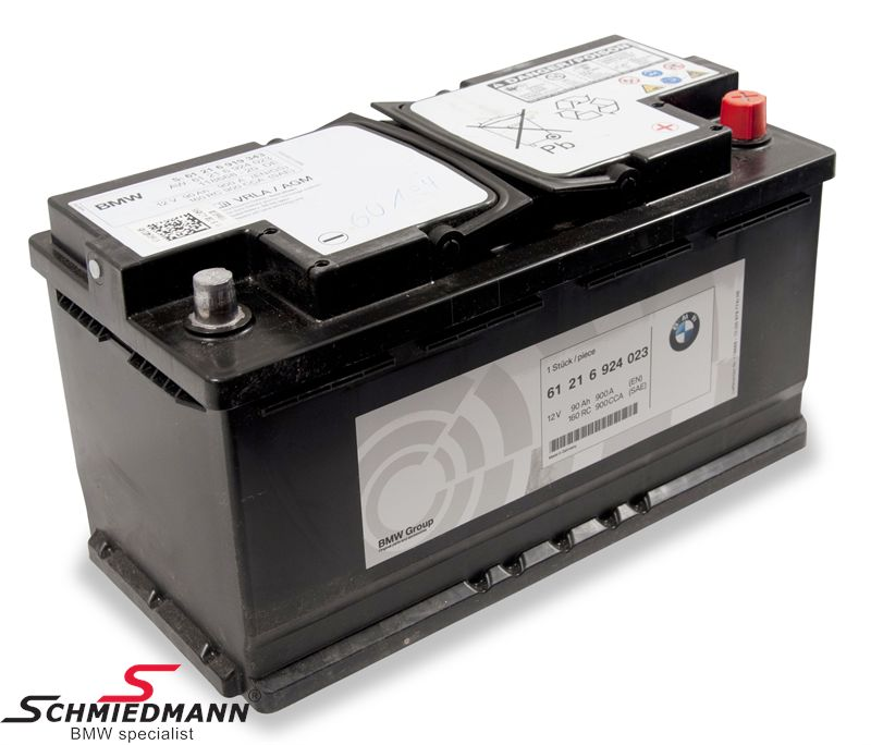 AGM battery original BMW 92AH
