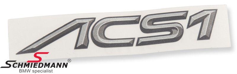 AC Schnitzer logo klistermärke -ACS1-