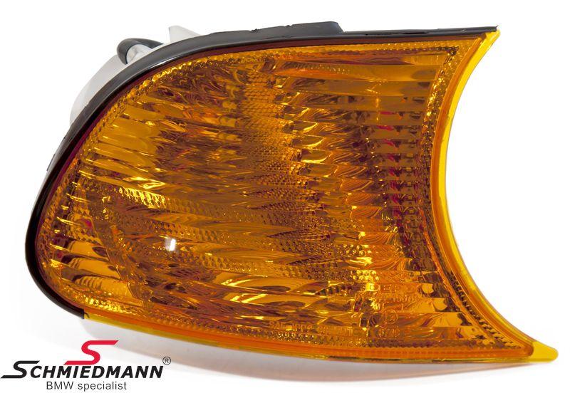 Forblink standard gult H.-side