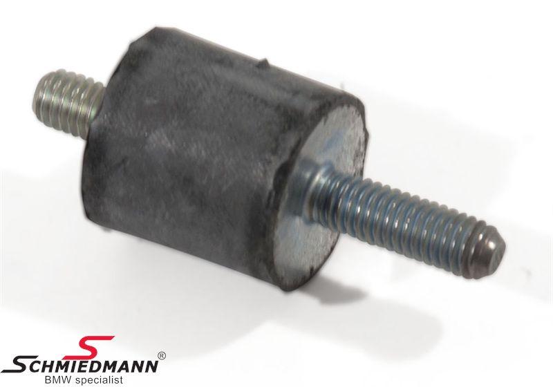 Pindbolt med gummi-ophæng til ventildæksel-afdækningen