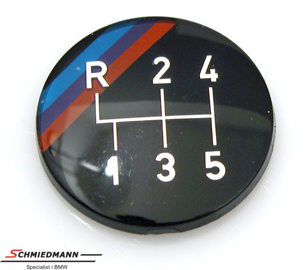 Emblem M-Tech. for gear knob