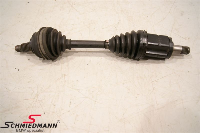 Output shaft front axle complete L.-side