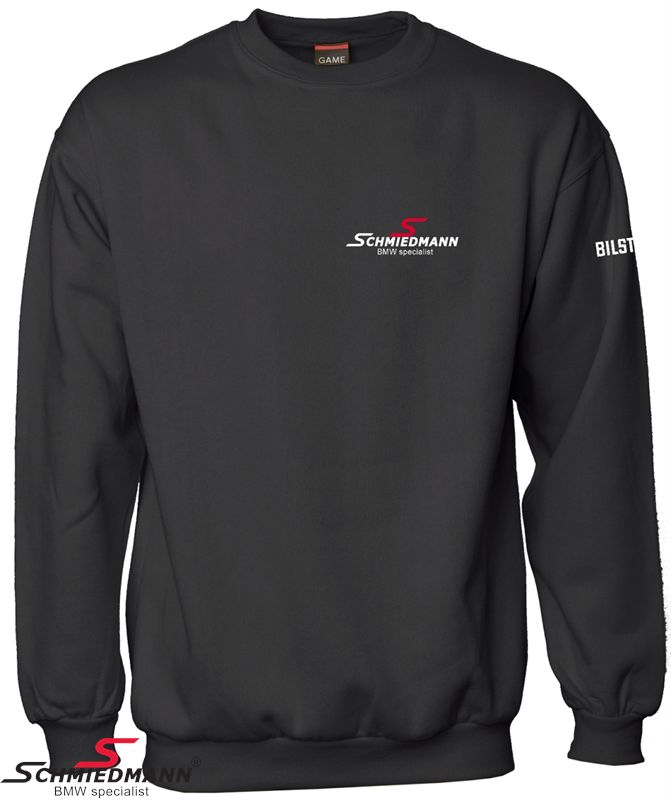 Schmiedmann Logo sweatshirt schwarz