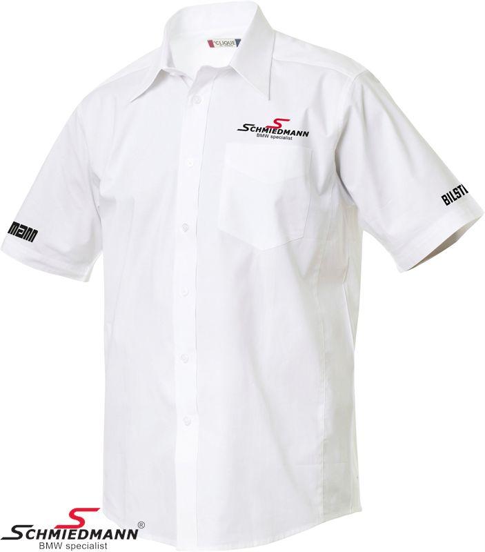 Schmiedmann kortærmet skjorte herre model hvid (fritid)