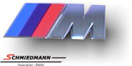 Emblem M-technik for the trunk lid