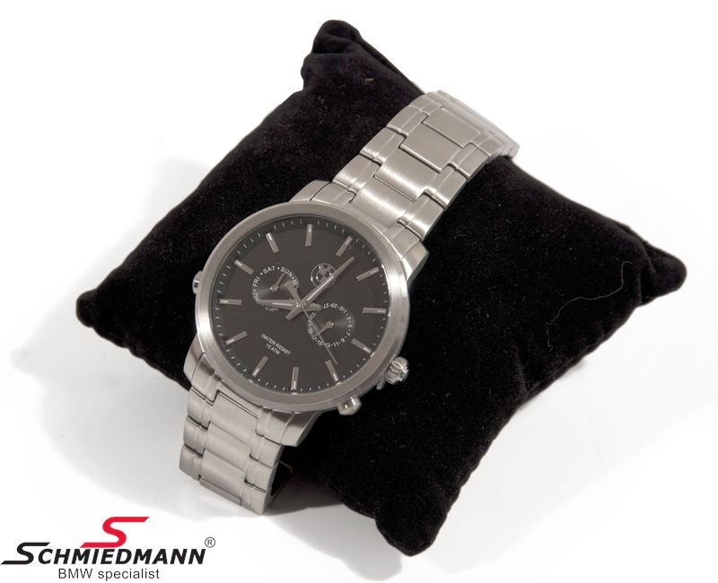 BMW Men´s Watch, med svart  face