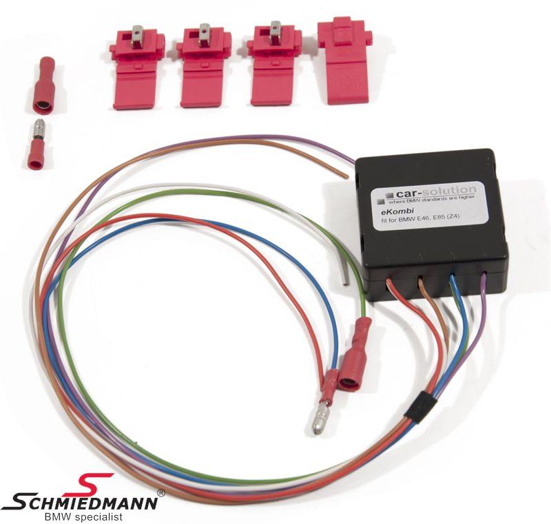EKOMBI1  Boardcomputer upgrade kit, get olie temp./water temp./battery power/digital speed