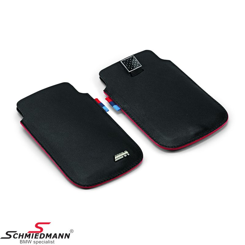 M iPhone 4+4S Sleeve -M///- genuine leather