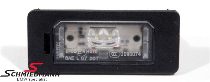 Nummerplade lygter LED passer H.+V.-side