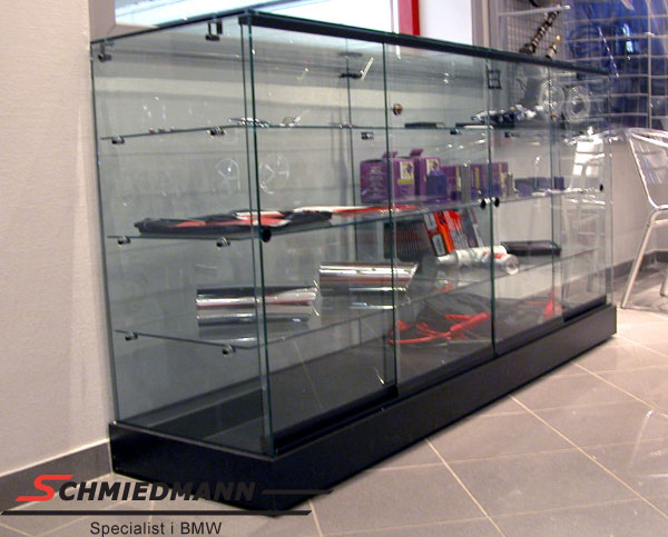 Showroom glasscase