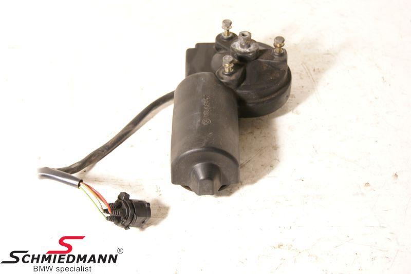 Wiper motor front