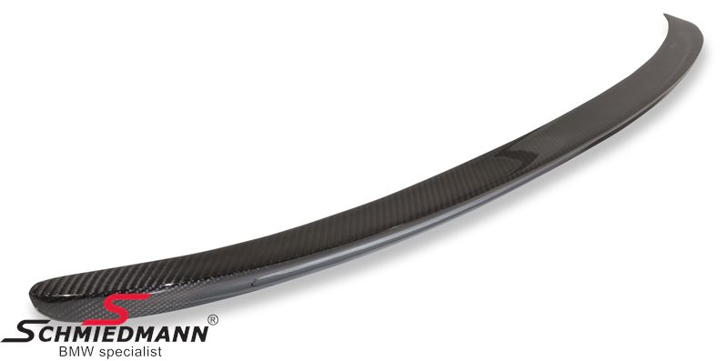 Rear spoiler -EVO race- genuine carbon