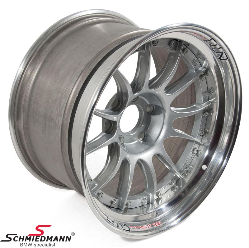 "18"" original -NTM- individual -PISTA III- lightweight Motorsport forged 3pcs rim"