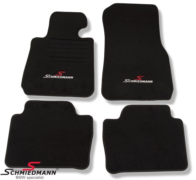 Lattiamatot Schmiedmann -Sport Edition- mustat lattiamatot eteen/taakse