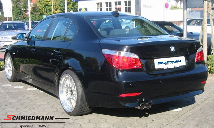 Eisenmann sport rear silencer 2XØ76MM