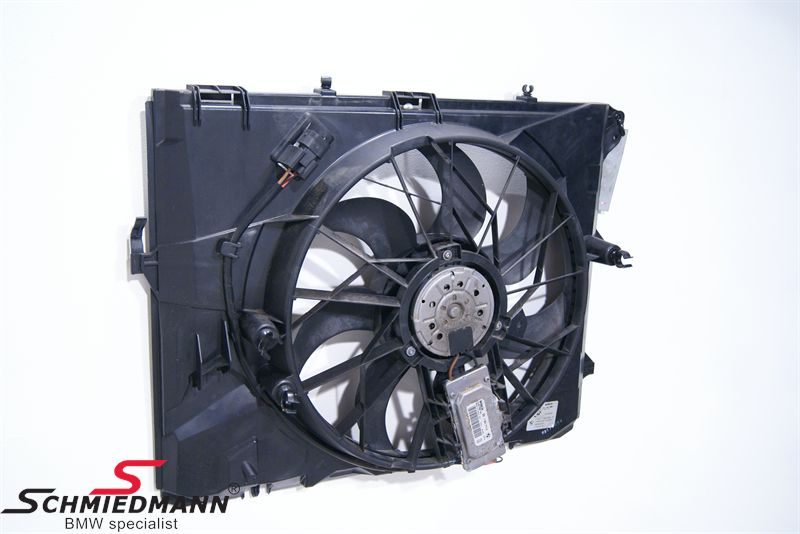 Radiator blower complete 300W