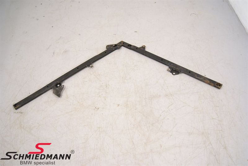 Reinforcement front axle support