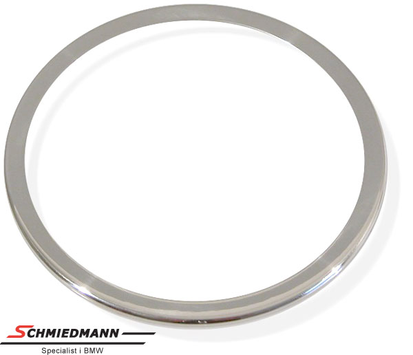 Kromramme omkring højtalere i fordørene diameter 90MM