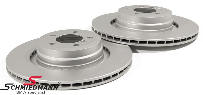 Brake discs rear ventilated 370X24MM