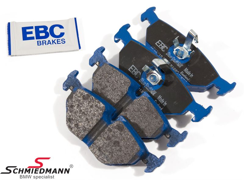 2012 bmw 1 series ebc yellow stuff brake pads dp41996r rear pads full set