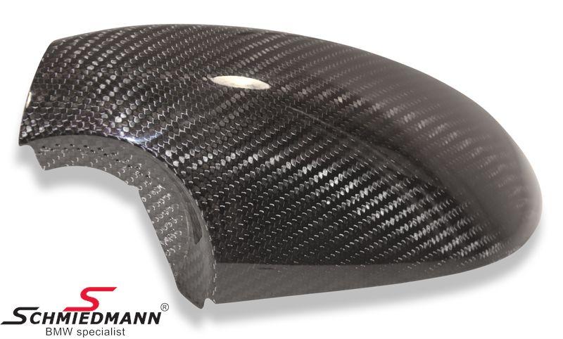 Sivupeilin kuori aitoa hiilikuitua BMW alkuperäinen VASEN