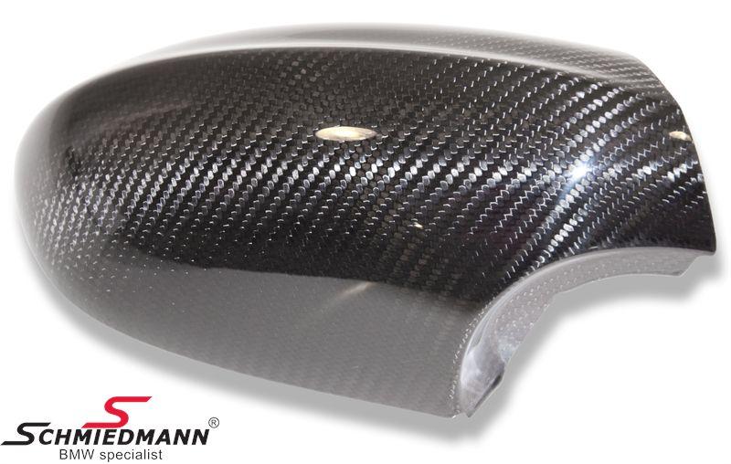 BMW Genuine Right Wing Mirror Cover Carbon E82//E90//E92//93 1//3 Series 51162157880