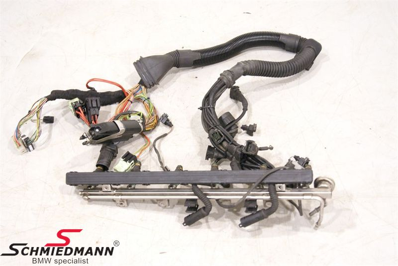 Engine Wiring Harness - 12511433358, 12 51 1 433 358, 1433358, B12511433358Schmiedmann
