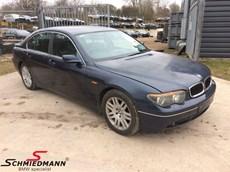 BMW E65 745I N62 2001